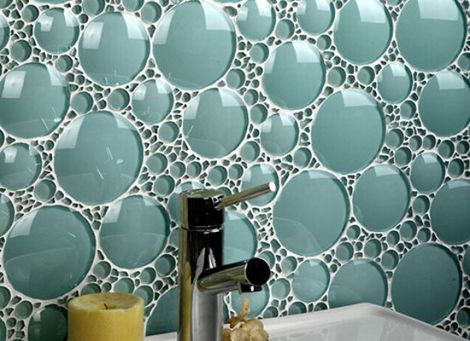 porcelain tiles as bathroom backsplash