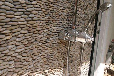 natural stone effect mosaic tiles